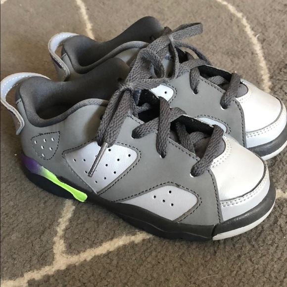 save off 3b951 68fab Nike Jordan retro 6 toddler girl